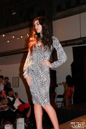 Model at Fashion on Film for Faatui Toele, Beatnik Studios, Sacramento, CA.February 24,2016. Photo Anouk Nexus