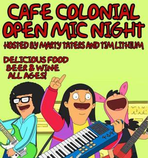 colonial open mic