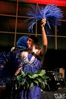 Aloha Dancers performing at the Crocker Art Museum, Sacramento, CA.March 10,2016. Photo Anouk Nexus