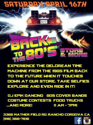 back to the future 80s party