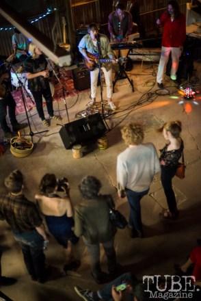 Duke Chevalier playing at The Panama Art Factory. April 30, 2016. Photo Melissa Uroff