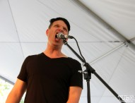 Ean Clevenger singer of NMBRSTTN, Concerts in the Park, Cesar Chavez Park, Sacramento, CA. June 3, 2016, Photo Anouk Nexus