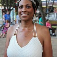 Rosalynn Scott audience member, Concerts in the Park, Cesar Chavez Park, Sacramento, CA. June 3, 2016, Photo Anouk Nexus