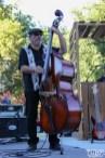 Upright Bassist Barry Prior for Hannah Jane Kile, Concerts in the Park, Cesar Chavez Park, Sacramento, CA. July 8, 2016. Photo Anouk Nexus