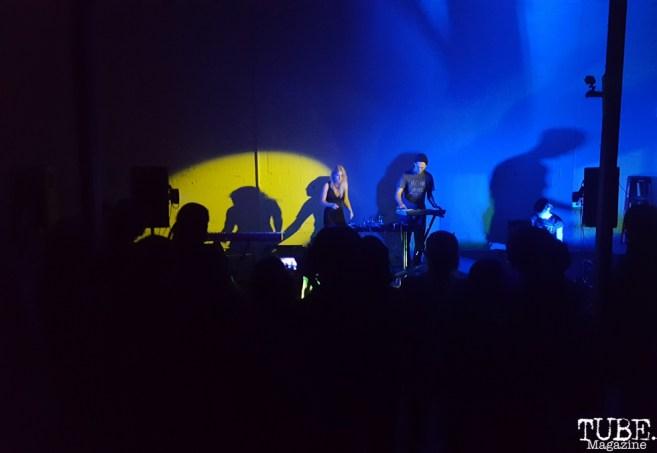 Vocalist Sydney Jones, Vocalist Buddy Hale and Rachel Freund of Separate Spines Red Museum, Sacramento, CA. July 17, 2016. Photo Anouk Nexus