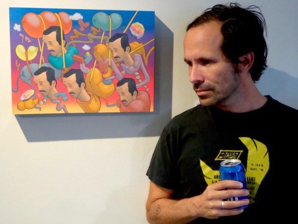 Jose DiGregorio with Waylon Horner's 'No Way Jose.'