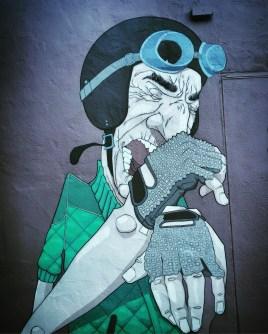 Unknown Artist, University Art, 2601 J Street, Sacramento, CA