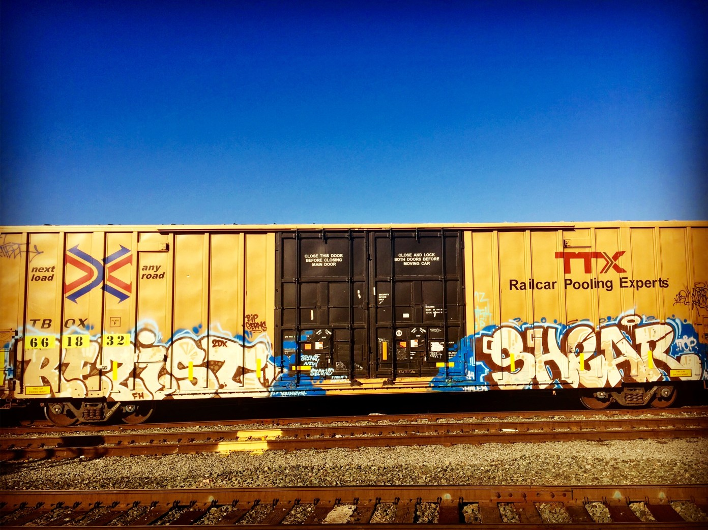 "Box Car, ""Rezist"" and ""Shear"" 5301 Power Inn Road, Sacramento, CA"