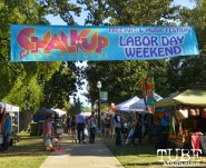 Chalk It Up event at Fremont Park in Sacramento, CA, September 4, 2016. Photo Emma Montalbano.