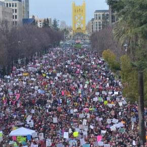 Look Inside Woman's March.