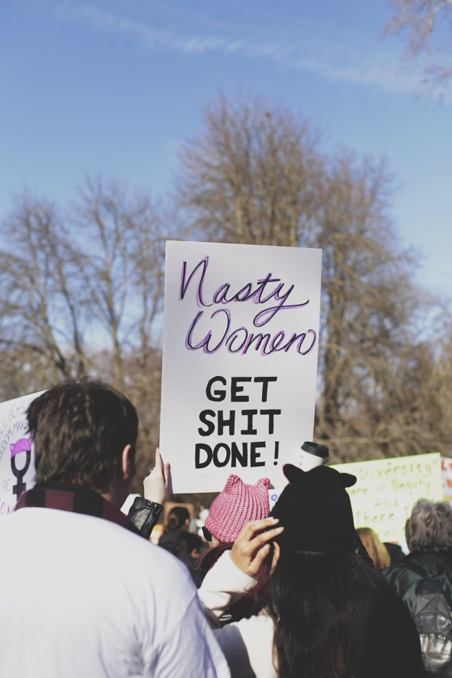Woman's March Sacramento, January 21, 2017. Photo Sarah Marie Hawkins
