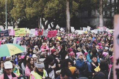 Woman's March Sacramento, January 21, 2017. Photo Sarah Marie Hawkins