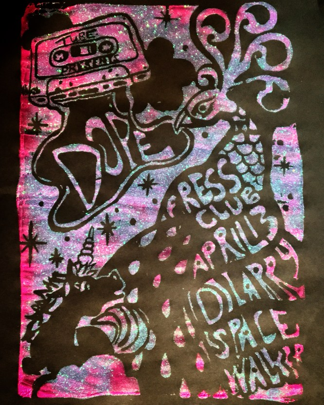Flyer for DOPE. Created by Melissa Uroff