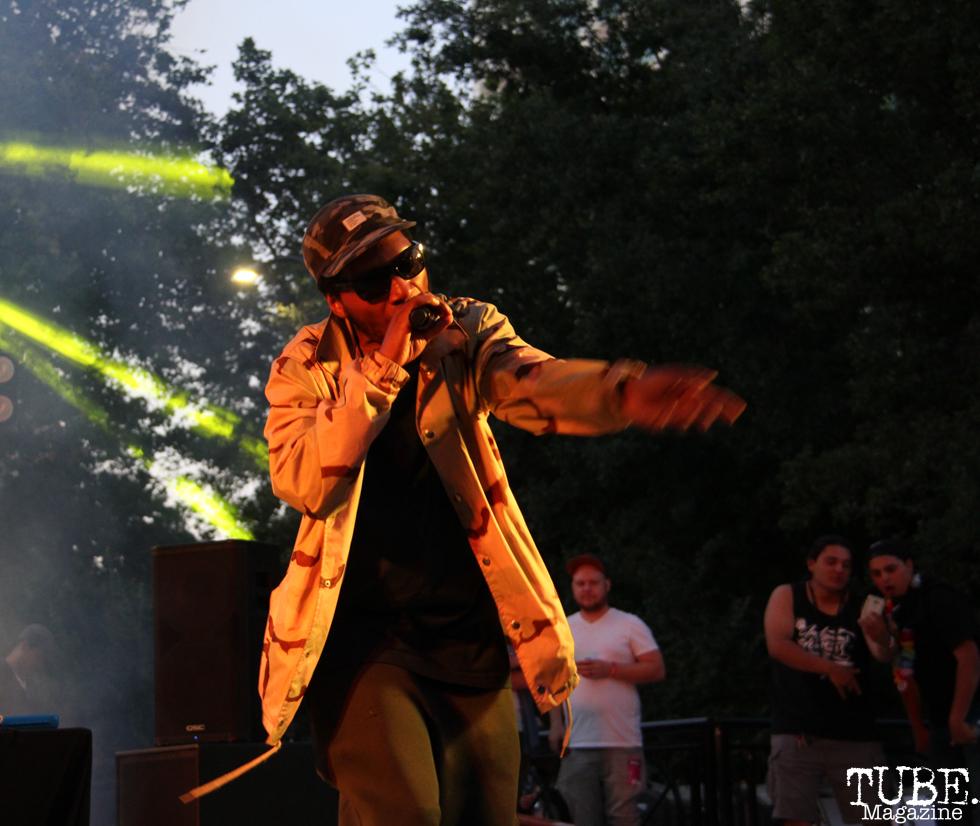 Del the Funky Homosapien, Concerts in the Park, Cesar Chavez Park, Sacramento, CA. June 09, 2017. Photo Anouk Nexus