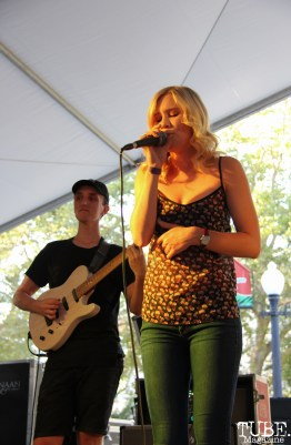 jpg-Guitarist Brandon Ewing and Vocalist Rachel Travis of Eternity Forever, Concerts in the Park, Cesar Chavez Park, Sacramento, CA. June 2, 2017. Photo Anouk Nexus