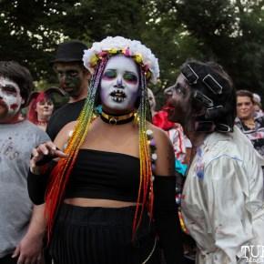 17th Annual Sacramento Zombie Walk.