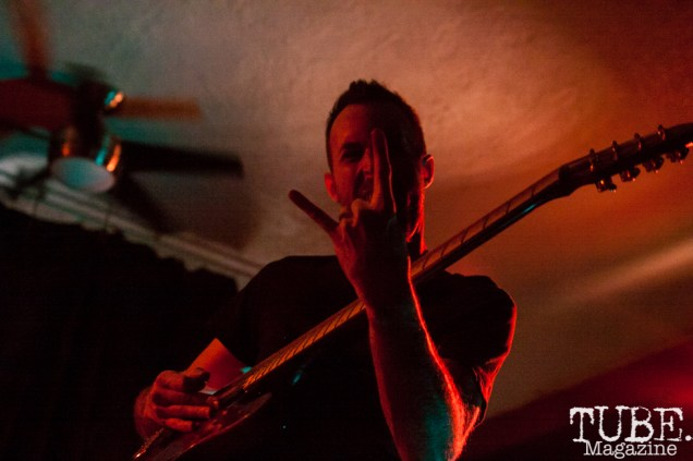 LELAND performing at Norcal Noisefest XXI at Cafe Colonial in Sacramento, CA (10/8/2017). Photo Cam Evans.