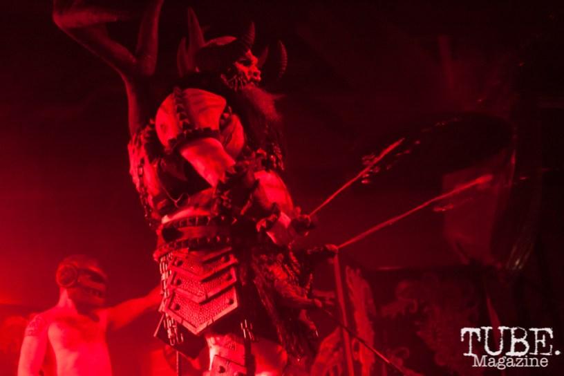 Michael Bishop (Blothar) performing at Ace Of Spades in Sacramento, CA (11-19-2017). Photo Cam Evans