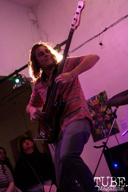 Scott Dunbar of Write Or Die performing at Sol Collective in Sacramento, CA (12/12/2017). Photo Cam Evans