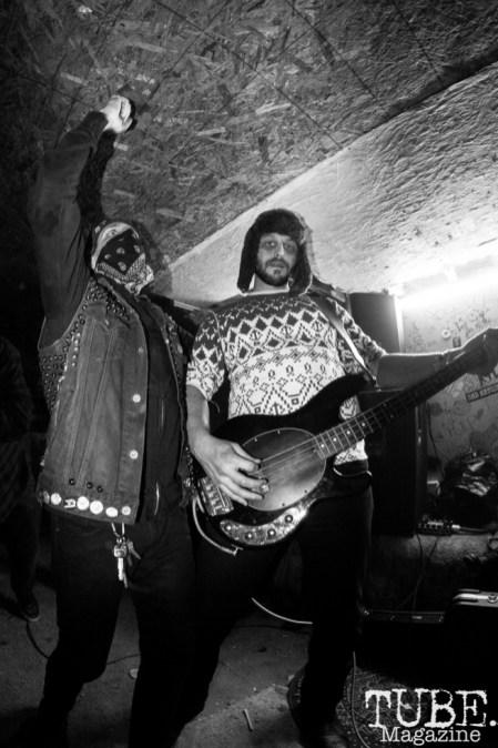 Steven Gay of Red Pills performing at Casa De Chaos in Sacramento,CA (12/15/2017). Photo Cam Evans