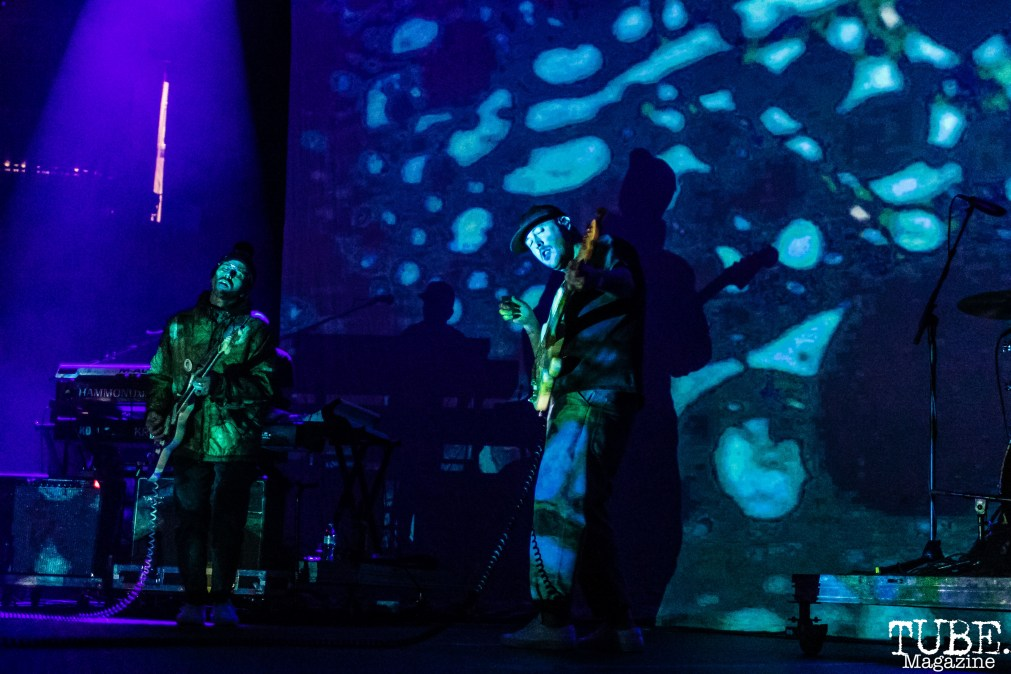 Portugal. The Man, Electric Christmas, Golden 1 Center, Sacramento, CA December 7, 2017 Photo by Mickey Morrow