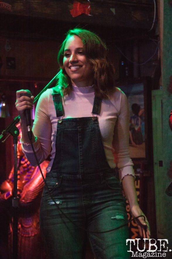 Our People performing at Powerhouse Pub in Folsom, CA (1/17/2018). Photo Cam Evans