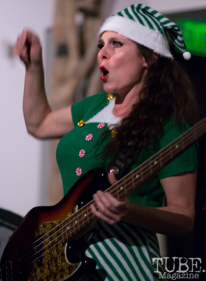 Miss Nyxi of Joy & Madness, Audio Muse, Crocker Art Gallery, Sacramento, CA, December 21, 2017, Photo by Daniel Tyree