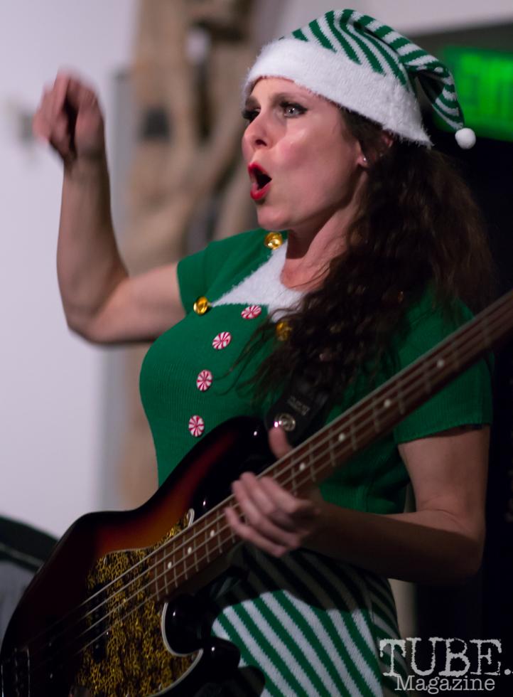 Miss Nyxi of Joy & Madness, Audio Muse, Crocker Art Gallery, Sacramento, CA, December 21, 2017, Photo by Daniel Tyree