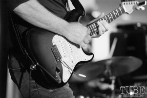 Fender Strat, Audio Muse, Crocker Art Gallery, Sacramento, CA, December 21, 2017, Photo by Daniel Tyree