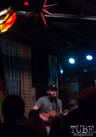 Andy Hull of Manchester Orchestra, Power House Pub, Folsom, CA January 17, 2018, Photo by Dan Tyree