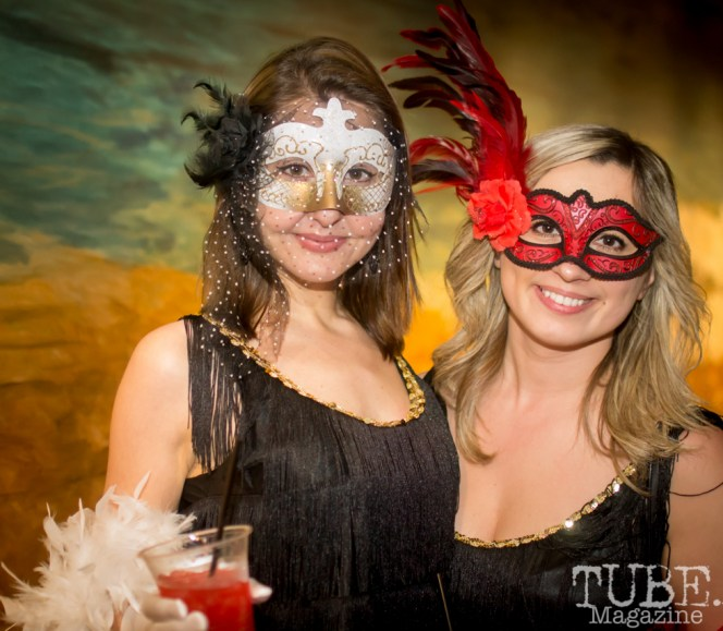 Evy & Rye, Art Mix Masquerade, Crocker Art Gallery, Sacramento, CA January 11, 2018, Photo by Daniel Tyree