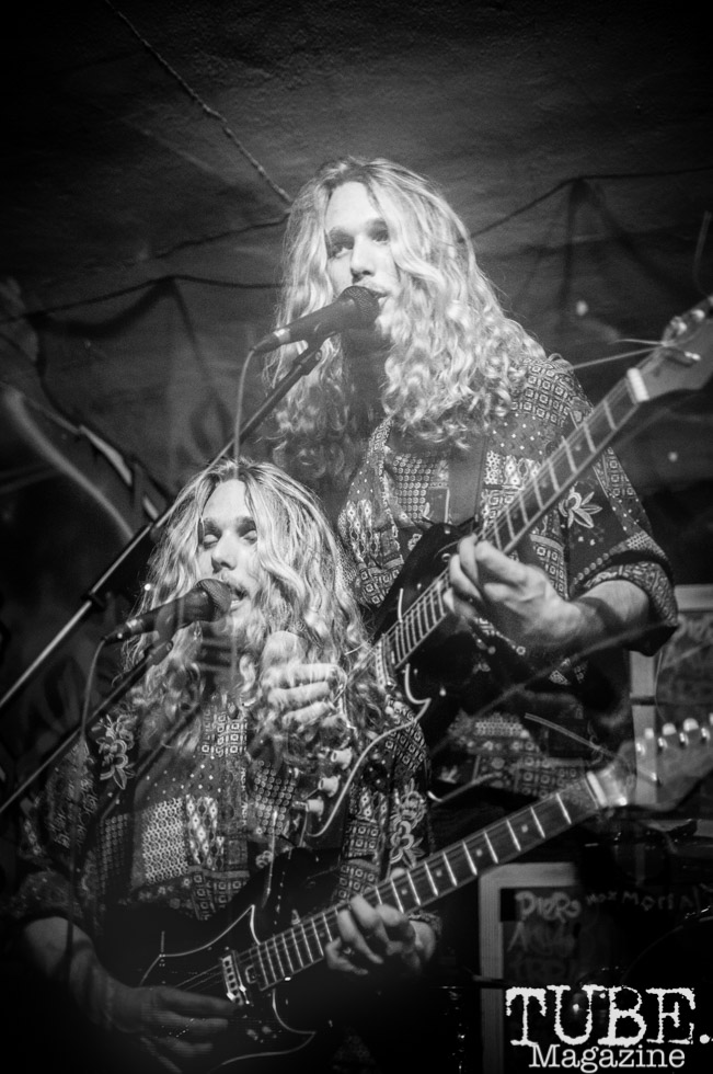 Cardboard Houses perform at The Colony in Sacramento Ca. January 20, 2018. Photo Heather Uroff