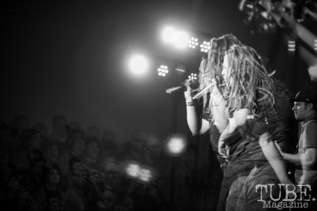 Rage Against The Machine, Halloween Show, Verge Center for the Arts, Sacramento CA, March 24, 2018. Photo Melissa Uroff