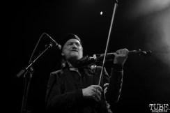 Violinist Sergey Ryabtsev of Gogol Bordello, The Fillmore, San Francisco, CA. February 27th, 2018. Photo Anouk Nexus