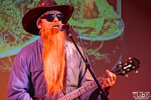 ZZ Tops performs at the Sac Halloween Show 2018, Verge Theater for the Arts, Sacramento CA, March 24th, 2018. Photo Joey Miller