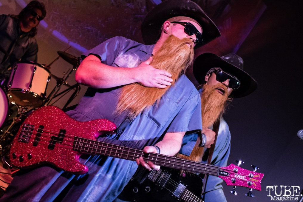 ZZ Tops performs at the Sac Halloween Show 2018, Verge Center for the Arts, Sacramento CA, March 24th, 2018. Photo Mickey Morrow