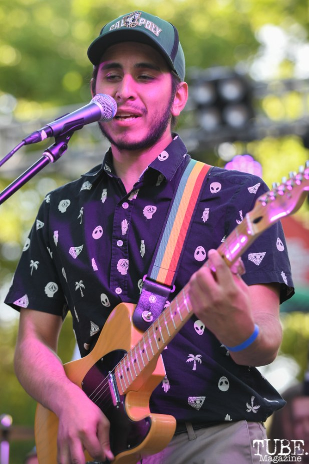 Ivan Rodriguez of La Noche Oskura, Concerts in the Park, May 4th, 2018, Sacramento, CA, Photo by Daniel Tyree