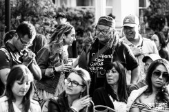 Attendees, Dress Up-Wine Down, Capitol Avenue, Sacramento, CA. May 12th, 2018. Photo Mickey Morrow