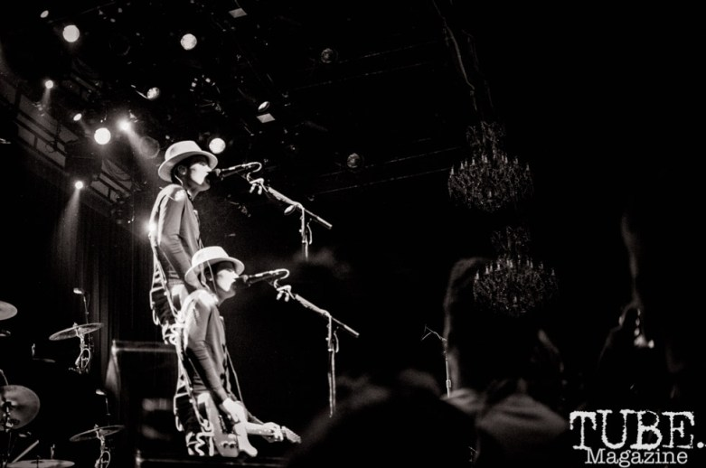 The Fratellis performing at The Fillmore, in San Fransisco CA. April 30, 2018. Photo Heather Uroff.
