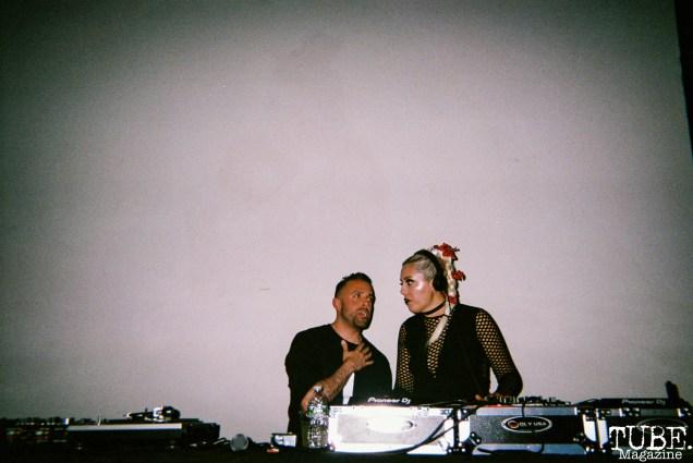 Rob Fatal and Bianca Oblivion, SOMArts Cultural Center, San Francisco, CA. June 01, 2018. Photo Benz Doctolero
