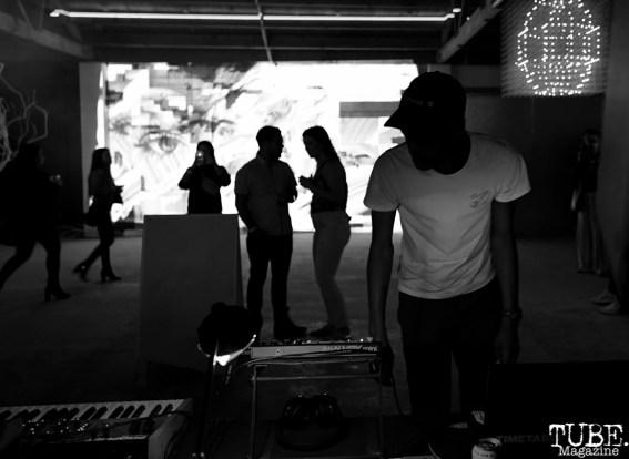 Silhouettes, Light.Wav Sacramento Tech-Art Showcase, Sacramento, CA, June 16, 2018, Photo by Daniel Tyree