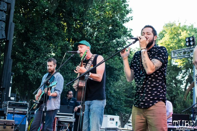 Element of Soul, Concerts in the Park, Cesar Chavez Park, Sacramento, CA. June 15th, 2018. Photo Mickey Morrow