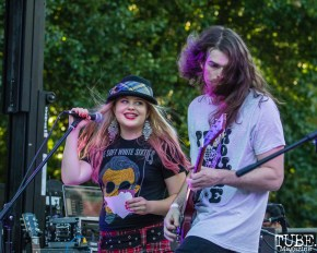 Drop Dead Red, Concerts in the Park, Cesar Chavez Park, Sacramento, CA. June 8, 2018. Photo Mickey Morrow