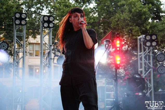 Rituals of Mine, Concerts in the Park, Cesar Chavez Park, Sacramento, CA. July 13th, 2018. Photo Anouk Nexus