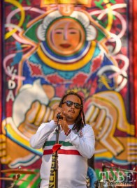 Nando Estrada of La Noche Oscura, Festival en la Calle, Southside Park, Sacramento, CA September 16, 2018, Photo by Daniel Tyree