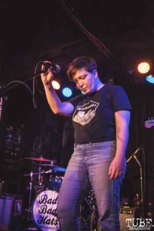 Alexandra Niedzialkowski of Cumulus performing at Harlows in Sacramento, CA (8/28/2018). Photo Cam Evans