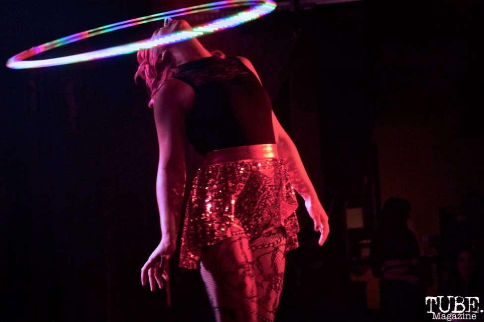 Laura Hoopicorn performs at The Grrrly Show Harlow's Night Club September 13th, 2018, Photo by Joey Miller