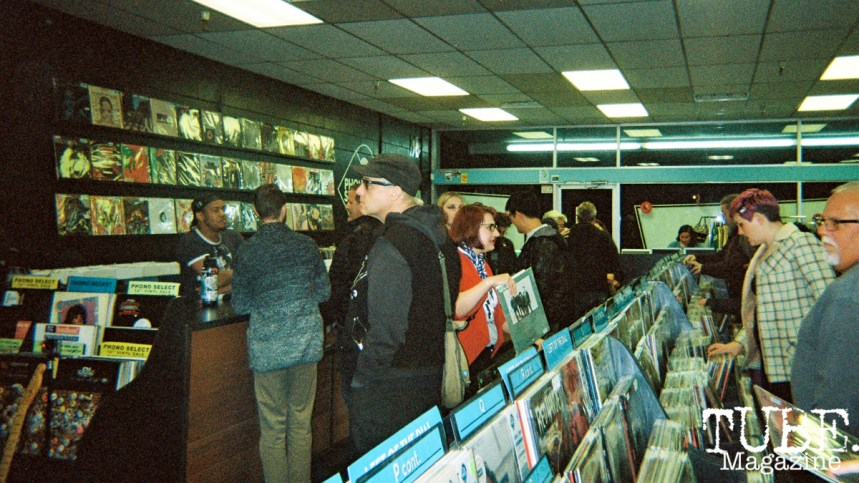 Sacramento is Burning Release Party, Phono Select Records, Sacramento CA. Photo Benz Doctolero.