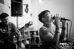 Las Pulgas, Phono Select Records, December 8 2018. Photo Heather Uroff