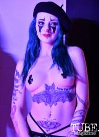Lydia Wilts, My Bloody Valentine, Knobs & Knockers, Old Sacramento, CA, February 15, 2019, photo by Daniel James.